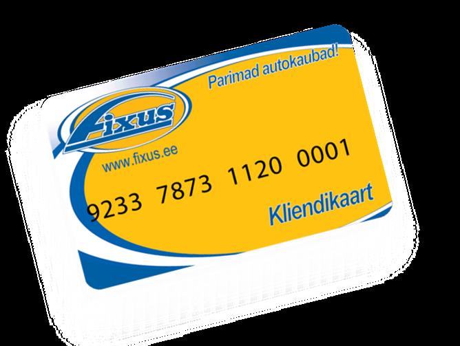 Fixus kliendikaart